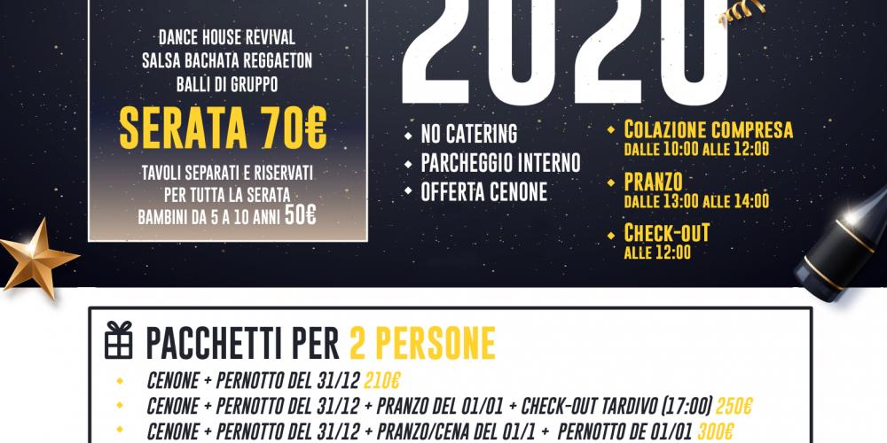 Capodanno 2020 a Villa Patrizia (Roma)