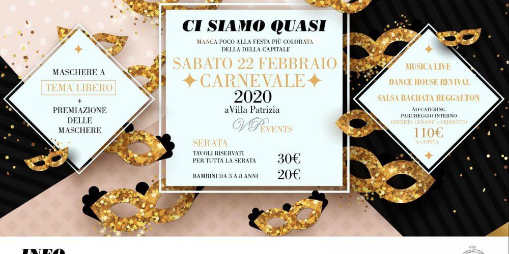 CARNEVALE 2020 a Villa Patrizia